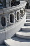 Detalle de las escaleras de la Biblioteca del Congreso imagen de archivo libre de regalías