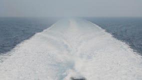 Detalle de las ondas del boad del transbordador