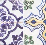 Detalle de las tejas tradicionales de la fachada de la casa vieja foto de archivo