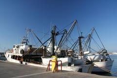 Detalle de los barcos de pesca Foto de archivo