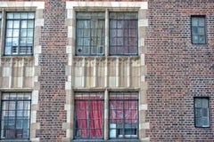 Detalle de los edificios de Nueva York Manhattan Foto de archivo libre de regalías
