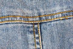 Detalle de los pantalones vaqueros del bolsillo Fotos de archivo