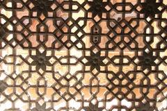 Detalle de mármol blanco de la ventana Imagenes de archivo