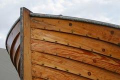 Detalle de madera del barco Foto de archivo