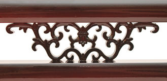 Detalle de madera tallado Imágenes de archivo libres de regalías