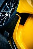 Detalle de McLaren P1 Fotos de archivo