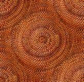 Detalle de mimbre circular Fotografía de archivo libre de regalías