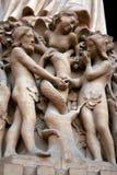 Detalle de Notre Dame Fotos de archivo libres de regalías
