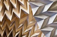 Detalle de Origami Foto de archivo