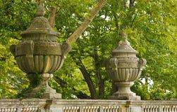 Detalle de ornamentos decorativos. Fotos de archivo libres de regalías