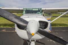 Detalle de pequeños aviones fotos de archivo