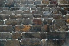 Detalle de piedra de las escaleras Imágenes de archivo libres de regalías