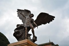 Detalle de San Michael Foto de archivo