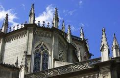 Detalle de Santa Teresita en Quito, Ecuador Imagenes de archivo