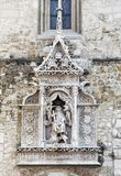 Detalle de St Matthias Church en Budapest imagen de archivo libre de regalías