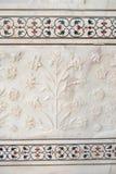 Detalle de Taj Mahal Imagenes de archivo