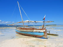 Detalle de un barco del pescador Foto de archivo