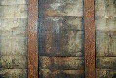 Detalle de un barril del whisky imagenes de archivo