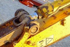 Detalle de un cavador Foto de archivo libre de regalías