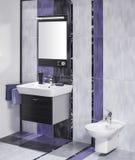 Detalle de un cuarto de baño elegante Fotografía de archivo