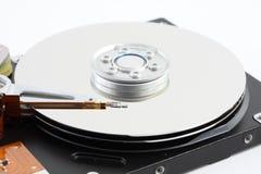 Detalle de un disco duro del ordenador Fotos de archivo