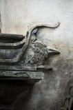 Detalle de un doorframe en China Imágenes de archivo libres de regalías