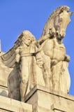 Detalle de un edificio imagenes de archivo