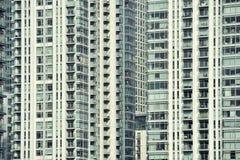 Detalle de un edificio del horizonte Foto de archivo libre de regalías