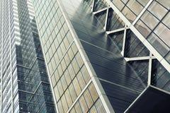 Detalle de un edificio del horizonte Imagen de archivo