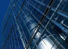 Detalle de un edificio moderno del asunto Imagenes de archivo