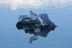 Detalle de un iceberg Fotos de archivo libres de regalías