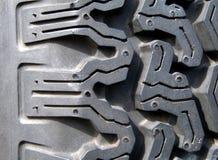 Detalle de un neumático imagen de archivo libre de regalías