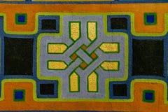 Detalle de un ornamento del estilo de la secesión imagen de archivo