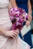 Detalle de un ramo floral Imagen de archivo