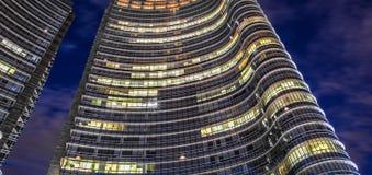 Detalle de un rascacielos Fotos de archivo libres de regalías