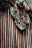 Detalle de un tejado japonés Imagen de archivo libre de regalías