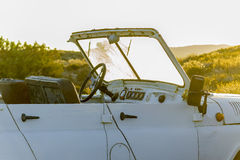 Detalle de un vehículo campo a través en Cerdeña septentrional Italia Foto de archivo libre de regalías