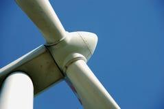 Detalle de un windturbine Imágenes de archivo libres de regalías
