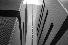 Detalle de una arquitectura industrial Imagen de archivo