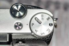 Detalle de una cámara Fotografía de archivo libre de regalías
