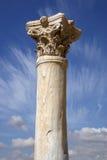 Detalle de una columna romana Fotos de archivo