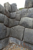 Detalle de una construcción de los incas Fotografía de archivo libre de regalías