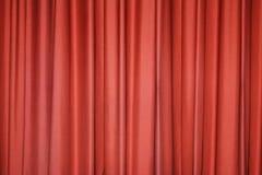 Cortina roja Fotografía de archivo