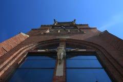 Detalle de una iglesia vieja Fotos de archivo libres de regalías