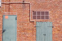 Detalle de una pared Imágenes de archivo libres de regalías