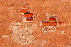 Detalle de una pared de piedra Fotos de archivo libres de regalías