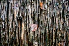 Detalle de una pared destruida Imagen de archivo