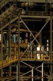 Detalle de una refinería 14 Foto de archivo