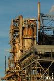 Detalle de una refinería 9 Imagen de archivo