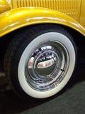 Detalle de una rueda de coche Fotos de archivo